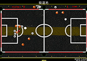 Billard sur un terrain de football